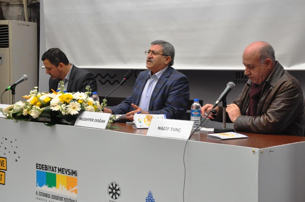 9. İstanbul Edebiyat Festivali'nin 2. Gününde Ustalar Geçidi