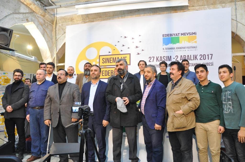 9. İstanbul Edebiyat Festivali'nde Ömer Lütfi Mete Rüzgârı