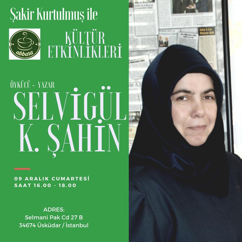 Selvigül K.Şahin Abbara Kültür Etkinlikleri'nde