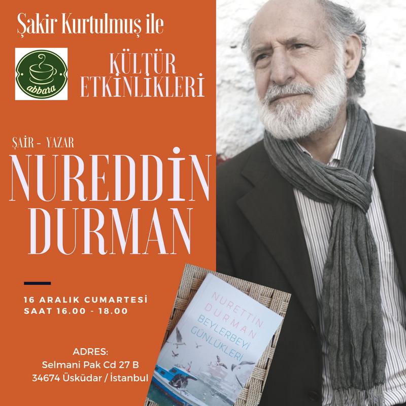 Nurettin Durman Abbara Kültür Etkinlikleri' nde