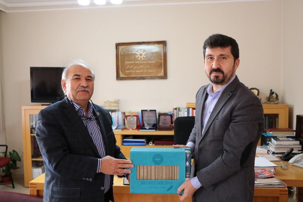 Memur-Sen Ankara İl Başkanı Kır'dan TYB'yi Ziyaret