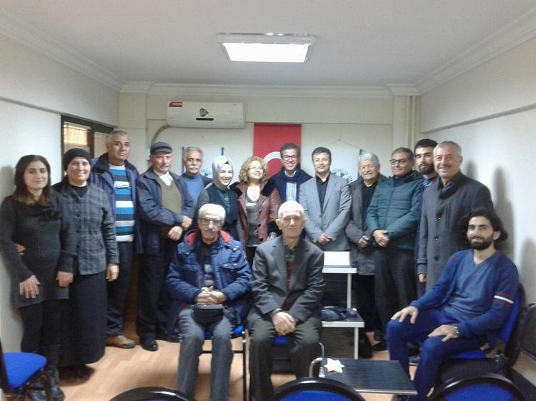 İzmir Şubesi'nde Mehmet Akif Anıldı