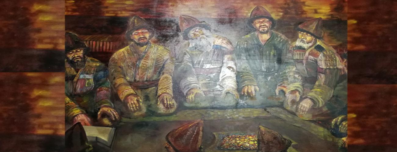 Pir-i Türkistan kapısında, Türkiye mesnevisi