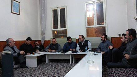 Buğday filminin yapımcısı Semih Kaplanoğlu Kahramanmaraş şubesinde