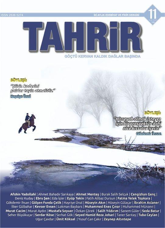 Tahrir Dergisi'nin 11. Sayısı Yayınlandı