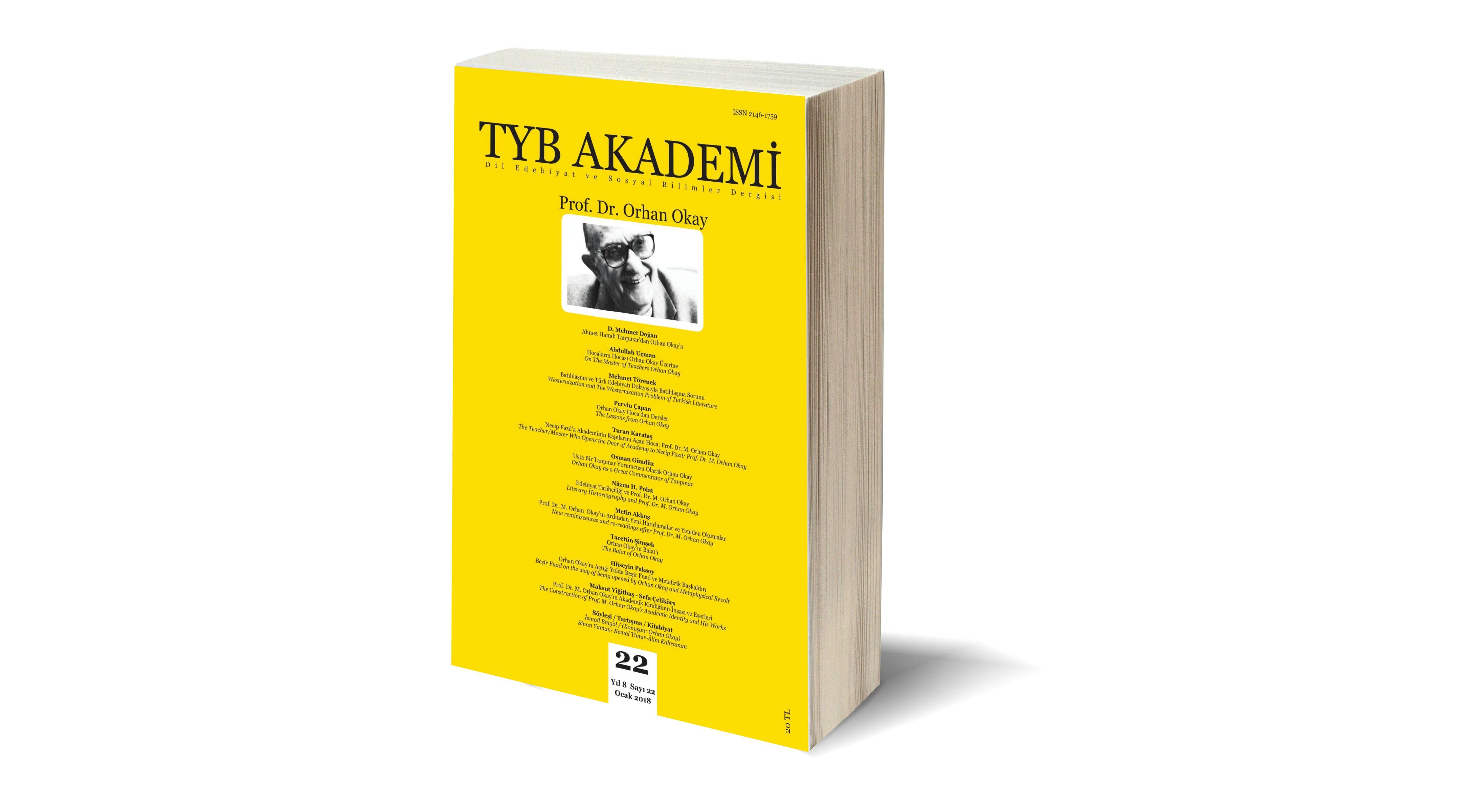 Prof. Dr. M. Orhan Okay'ın Edebî Biyografisi ve Bibliyografyası