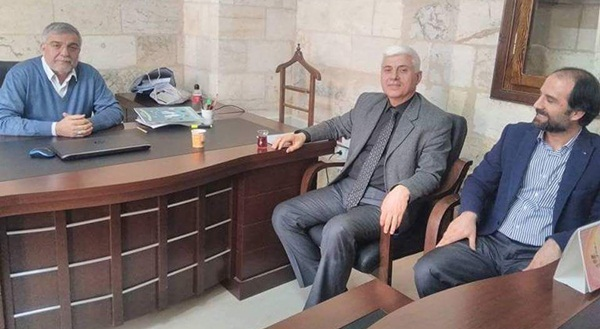 Şanlıurfa Başkanı Sarmış'tan kurumlara ziyaret