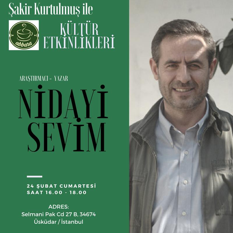 Nidayi Sevim Abbara Kültür Etkinlikleri'nde