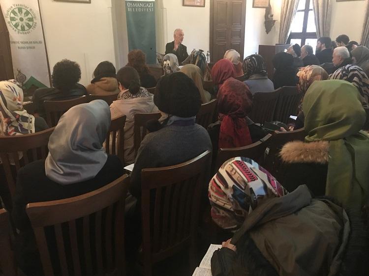 "Bursa Şubesi'nde Mustafa Kara İle ""İkindi Sohbetleri"""
