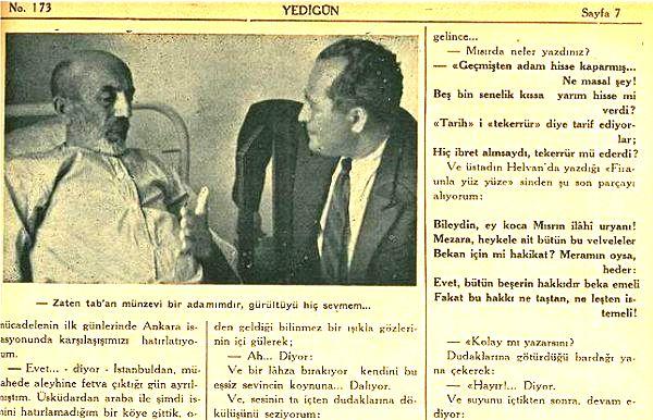 Mehmet Behçet Yazar'ın Kaleminden 1940'ların Edebiyatçılar Âlemi