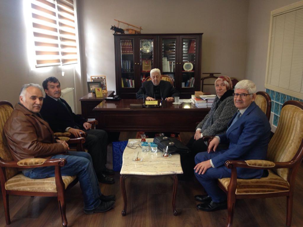 TYB Ankara Şubesi Üyelerini Ziyaret Ediyor
