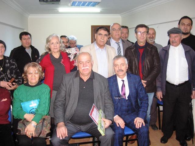 İzmir Şubesi'nde Başkan Tayfur Çiçek çalışmalarını anlattı