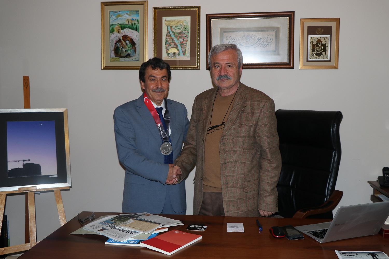 Ankara Şube Başkanı İsmail Bozkurt'a Tebrik