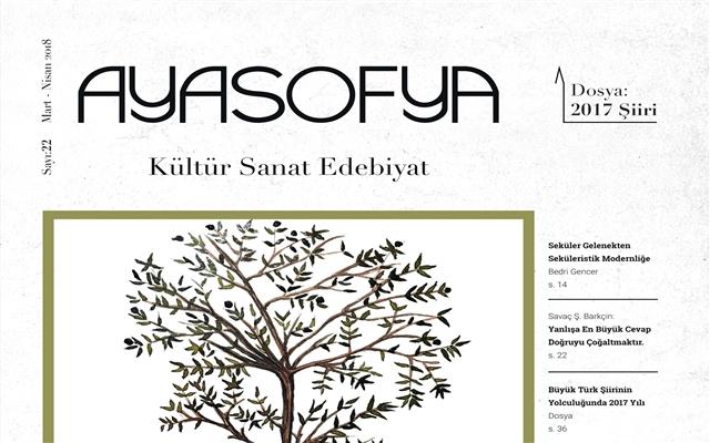 Ayasofya Dergisi 2017 Şiirini Mercek Altına Aldı