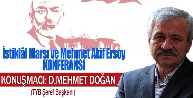 Şanlıurfa Şubesi Mehmet Akif Ersoy'u anacak