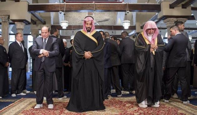 Prens Selman'ın ilklerle dolu Mısır ziyareti