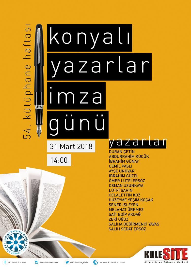 Konyalı Yazarlar İmza Günü