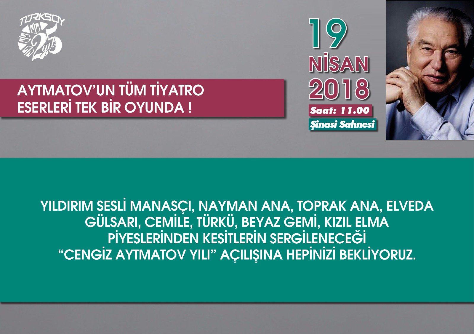 Aytmatov'un tüm tiyatro eserleri tek bir oyunda!