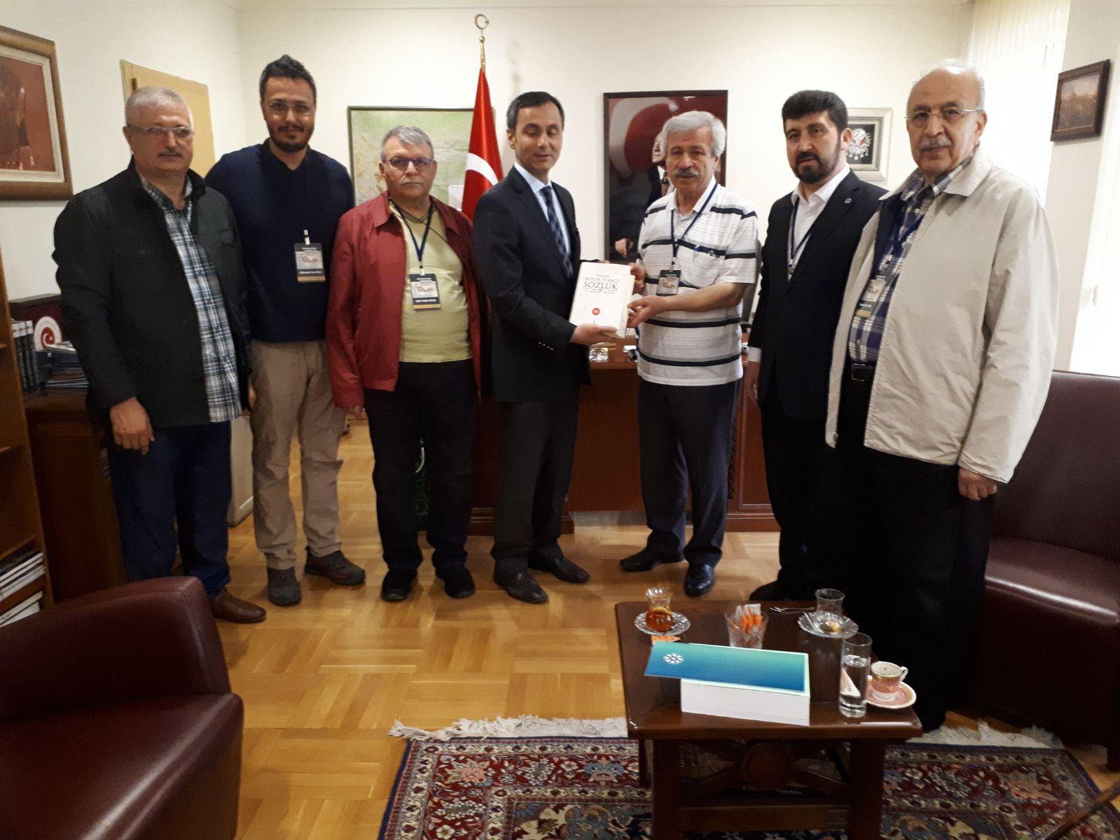 TYB Heyeti Filibe Başkonsolosu Ergani'yi ziyaret etti