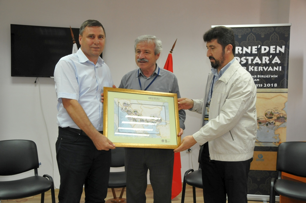 """TYB'nin """"Edirne'den Mostar'a Kültür Kervanı""""nın İkinci Durağı Kırcaali Oldu"""