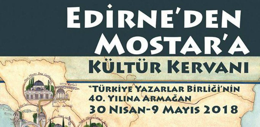 Edirne'den Mostar'a Kültür Kervanı Cumartesi Günü Prizren'de
