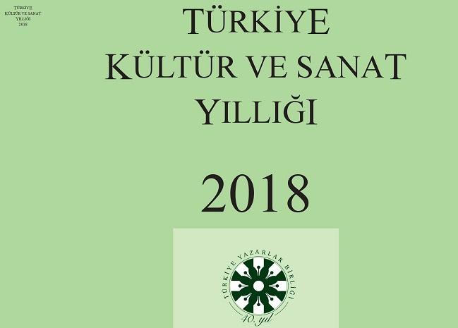Türkiye Kültür ve Sanat Yıllığı 2018 çıktı