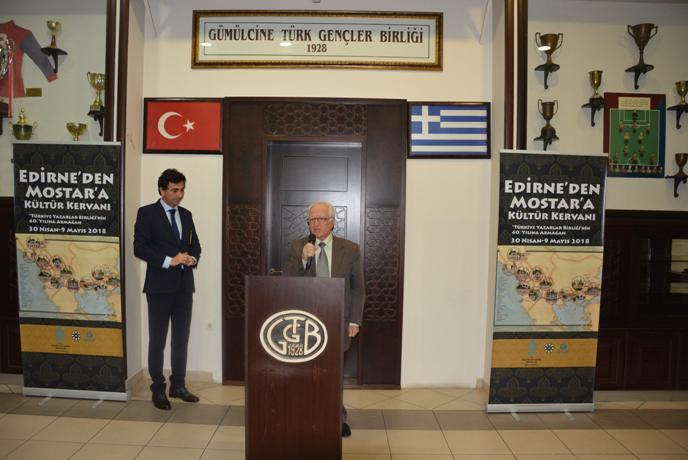 """Edirne'den Mostar'a Kültür Kervanı"""