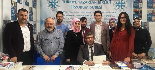Erzurum Şube Başkanı İspirli'den Başkan Sekmen ve Okurlara Teşekkür