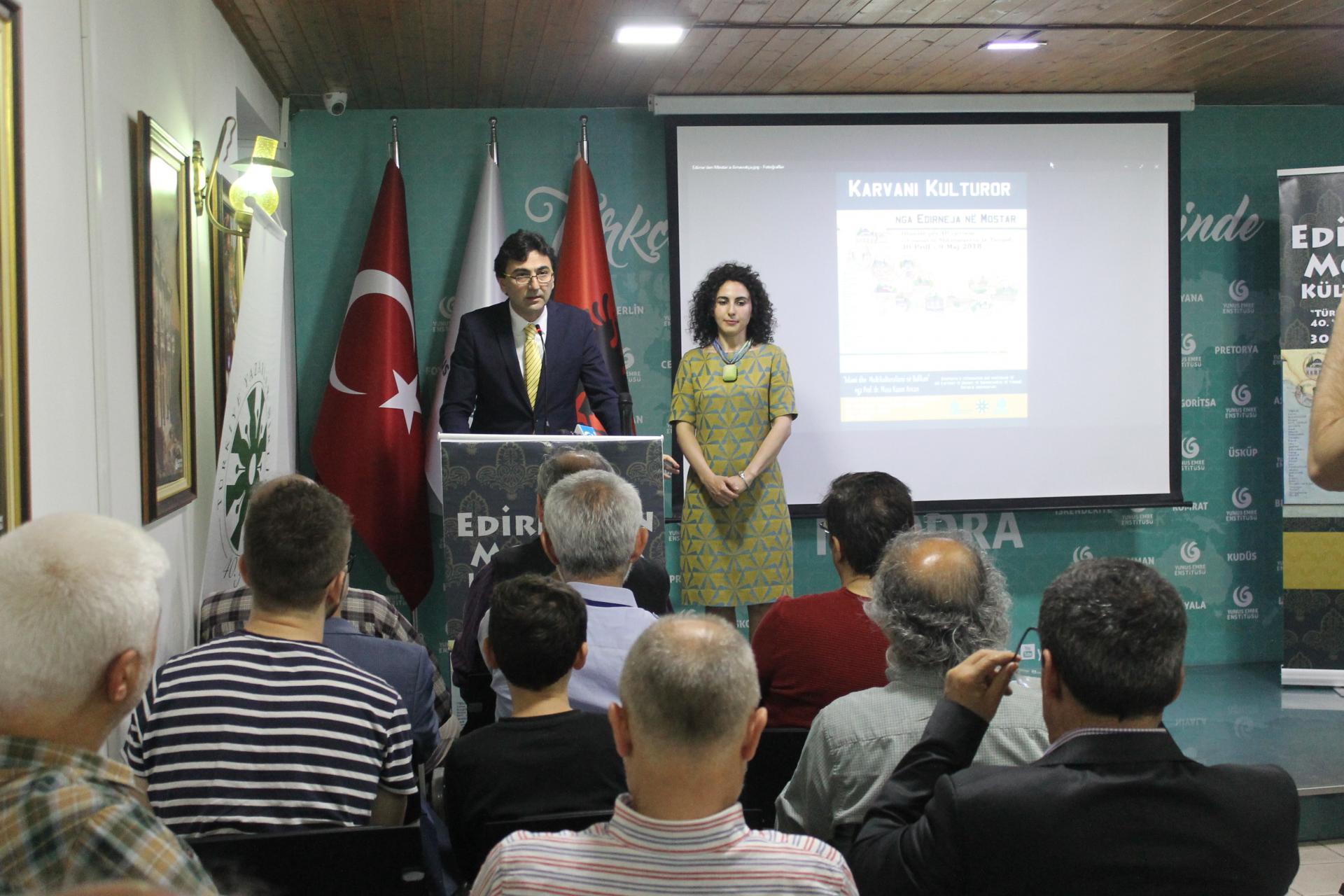 """""""Edirne'den Mostar'a Kültür Kervanı"""" İşkodra'da"""