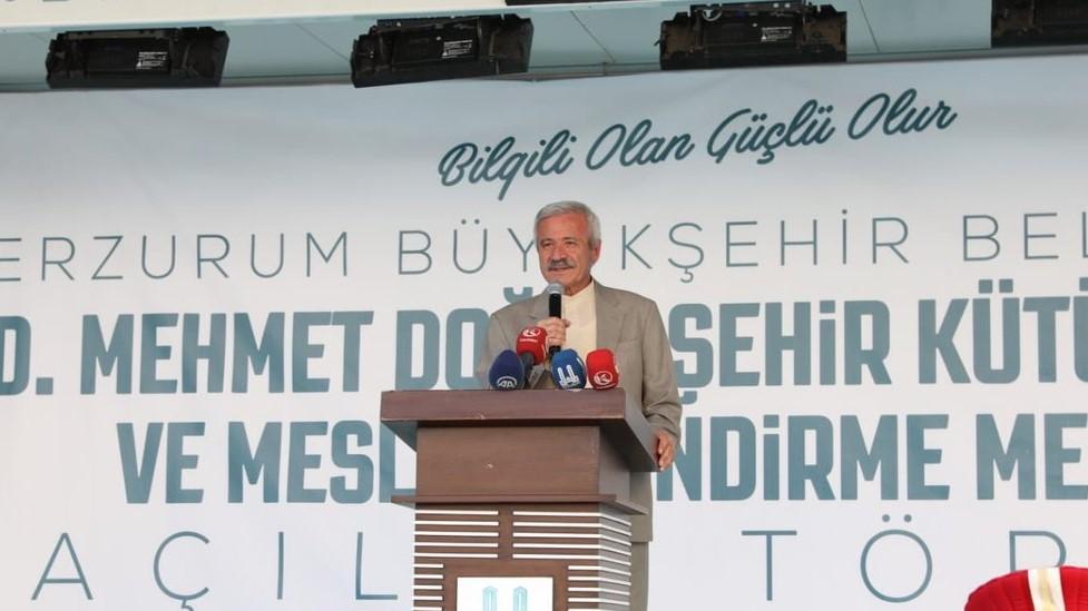 """D. Mehmet Doğan: """"Erzurum'un, Erzurumlunun kadirşinaslığına, vefasına minnetarım*"""""""
