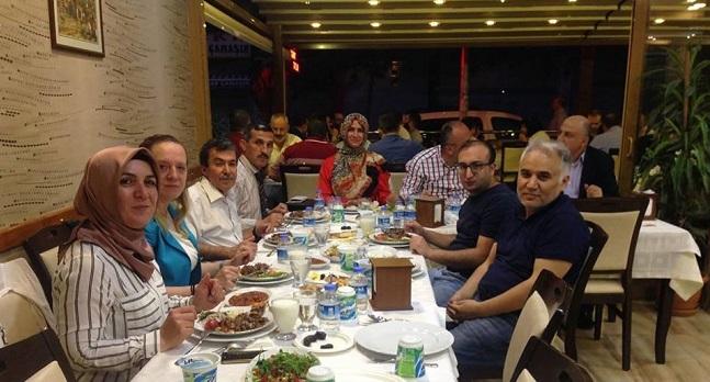 Ankara Şubesi Yönetim Kurulu Üyeleri İftarı
