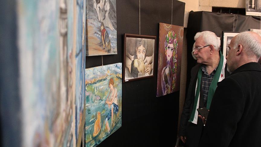 Güzel Sanatlar Gökkuşağı Sergisi TYB İstanbul'da Açılıyor