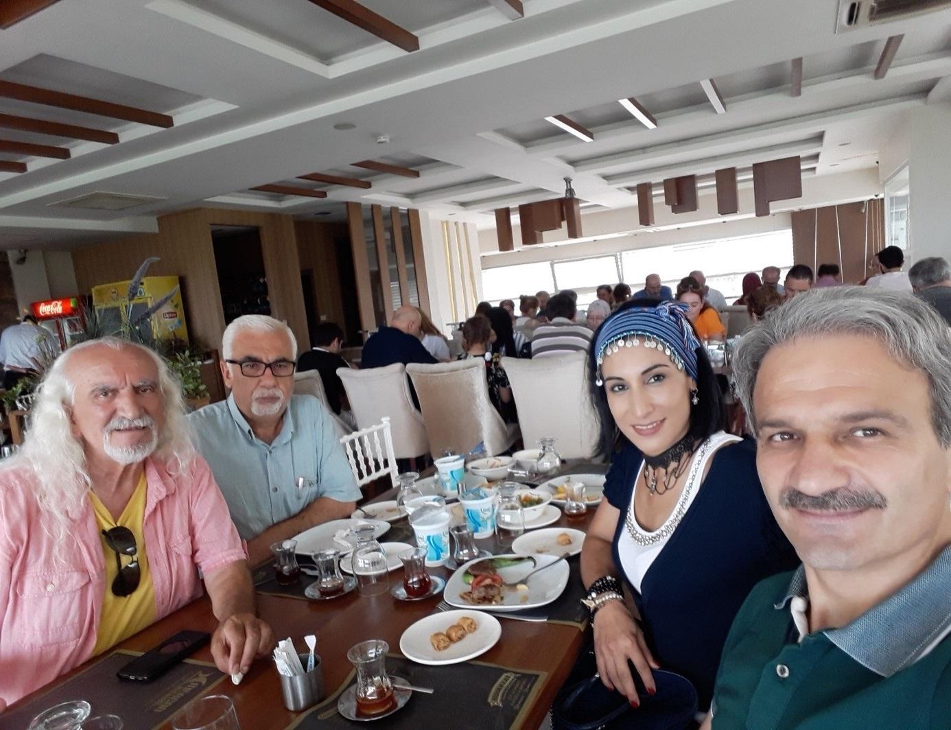 TYB Trabzon Şubesi Öğretmenleri Ağırladı