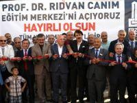 Prof. Dr. Rıdvan Canım'ın adı eğitim merkezine verildi