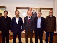 TYB İstanbul'da Başkan Hasan Suver'e Ziyaret