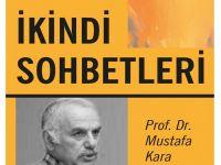 """Bursa'da """"İkindi Sohbetleri"""" Başlıyor"""