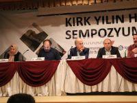Kırk Yılın Hikâyesi Sempozyumu Kahramanmaraş'ta Başladı