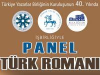 """İzmir Şubemizden """"Romanımızın 40 yılı"""" paneli"""