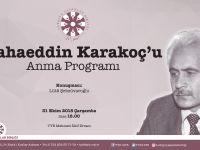 Bahaeddin Karakoç'u Anma Programı