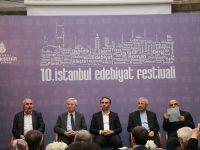 """""""10. İstanbul Edebiyat Festivali"""" başladı"""