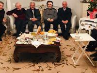 Hicabi Kırlangıç'a geçmiş olsun ziyareti