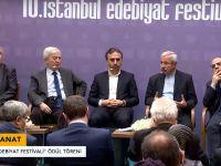 '10.İstanbul Edebiyat Festivali'' Ödül Töreni (video)