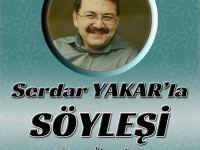 """TYB Kahramanmaraş Şubesinden """"Serdar Yakar'la Söyleşi"""" Programı"""