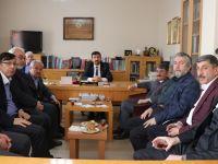 Ayhan Yılmaz, TYB Başkanı Arıcan'ı ziyaret etti