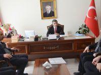 Erzurum Şubesi'nden Kaymakam Turan'a ziyaret