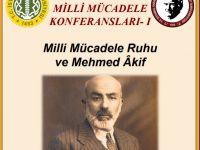 """D. Mehmet Doğan'dan """"Millî Mücadele Ruhu ve Mehmed Âkif"""" konferansı"""
