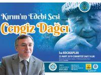 """Konya Şubesinde """"Kırım'ın Edebi Sesi Cengiz Dağcı"""" söyleşisi"""