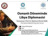 Osmanlı-Libya İlişkileri TYB İstanbul'da Konuşulacak