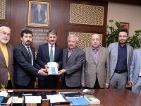 TYB'den Başkan Ayhan Yılmaz'a tebrik ziyareti