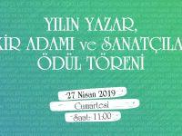 TYB 2018 Yılının Ödülleri 27 Nisan'da Ankara'da verilecek